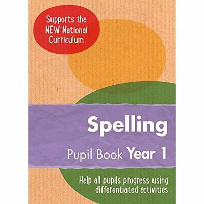 Year 1 Spelling Pupil Book: English KS1 (Ready, Steady, - Paperback NEW Keen Kit