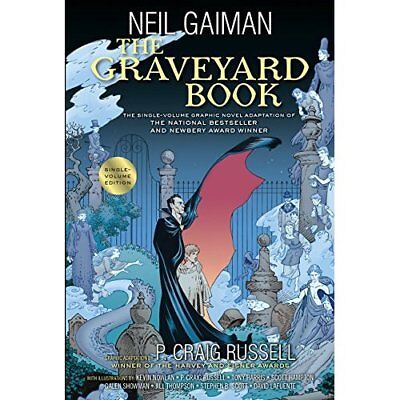 The Graveyard Book Graphic Novel Single Volume - Hardcover NEW Neil Gaiman (Au 2