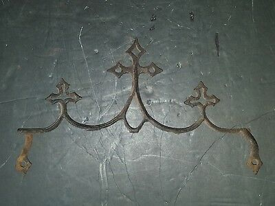 Vintage Gate, Fence, Mailbox Cast Iron Topper Finial