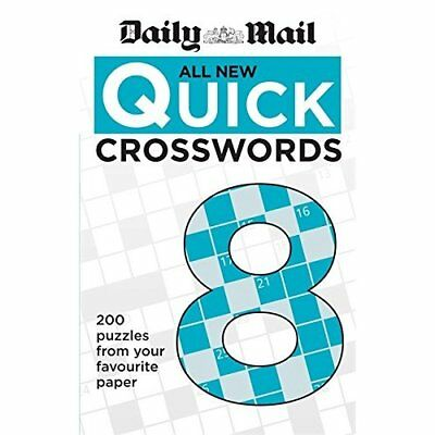 Daily Mail All New Quick Crosswords 8 (The Daily Mail P - Paperback NEW Daily Ma