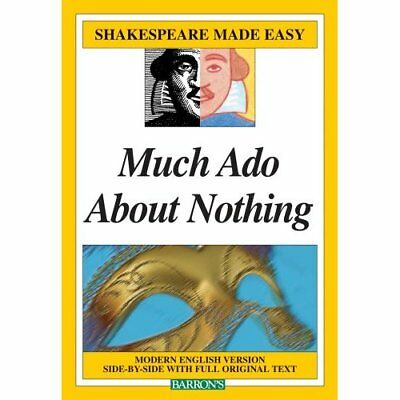 Much Ado About Nothing (Shakespeare Made Easy) - Paperback NEW Lacie, Christin 2