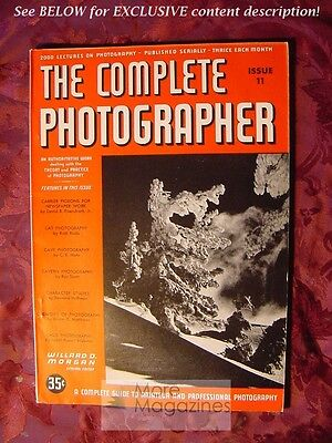 RARE The COMPLETE PHOTOGRAPHER Issue 11 Volume 2 1941 Photography