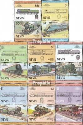Nevis 115-130 Couples mint never hinged mnh 1983 LocoThematics