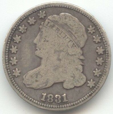 1831 Capped Bust Half Dime, Good-VG