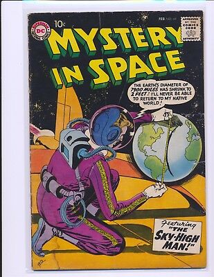 Mystery In Space # 49 G/VG Cond. slight water damage