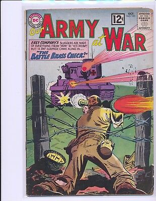 Our Army At War # 123 Good+ Cond.