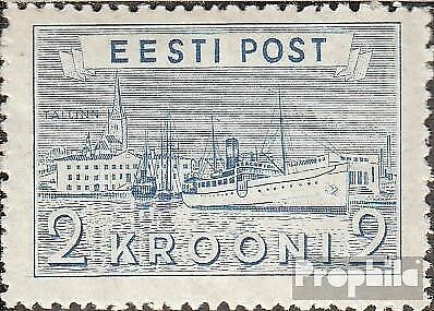 Estonia 137 mint never hinged mnh 1938 Postage stamp