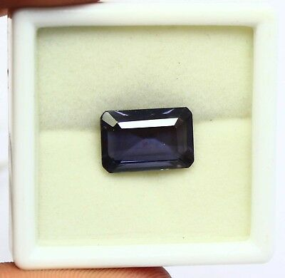 10.55Ct EGL Certified Natural Shiny Color Changing Alexandrite Gemstone AQ4225