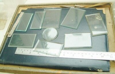 Clock makers carriage clock bevelled edge glasses for carriage clocks some chips