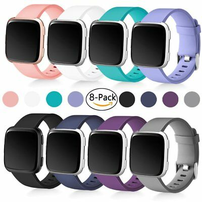 Fitbit Versa Band Replacement Bands Accessories for Fitbit Versa Watch 8 PACK