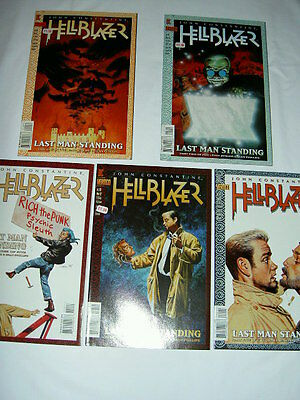 "Hellblazer 110-114 ""last Man Standing"" :complete 5 Issue Constantine Story.1997"