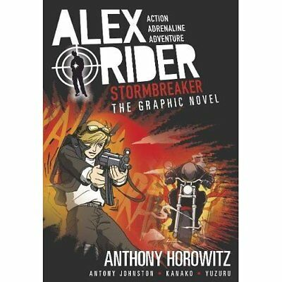 Stormbreaker Graphic Novel (Alex Rider) - Paperback NEW Anthony Horowit 2016-01-
