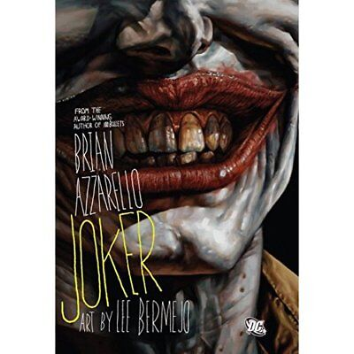 Joker (The Joker) - Hardcover NEW Azzarello, Bria 2008-10-31