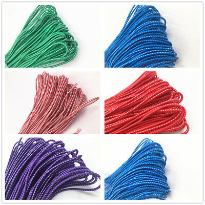 3mm Round Elastic Stretch Cord Waist Band for Sewing Band DIY Crafts 4-40M