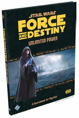 Star Wars Force & Destiny RPG - Unlimited Power Sourcebook for Mystics