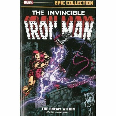 Iron Man Epic Collection: The Enemy Within (Invincible  - Paperback NEW Denny O'