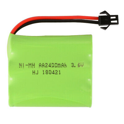AA NI-MH 3.6V 2400mAh Battery Pack +SM Port to USB Cable for Toys Lighting BC732
