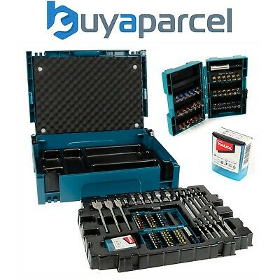 Makita B-43044 66 Piece Drill Screwdriver Accessory Set in Makpac Tool Case Box