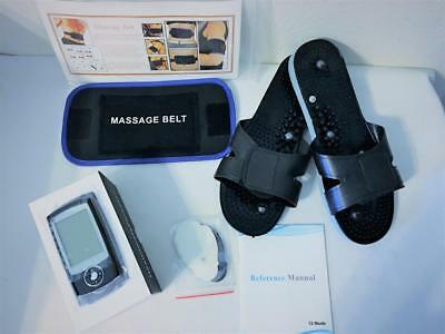 Healthmate Forever Pro12Ab Wireless Tens Unit Ems+Massage Shoes & Belt Msrp $350