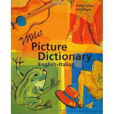 Milet Picture Dictionary: Italian-English (Milet Pictur - Hardcover NEW Turhan,