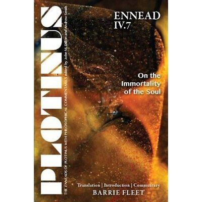 Plotinus - Ennead IV.7: On the Immortality of the Soul  - Paperback NEW Barrie F