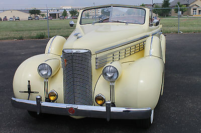 """1938 Cadillac Other Standard 1938 LaSalle Series 50 Convertible Sedan """"Only 265 produced"""""""