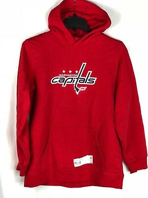 Washington Capitals Kids Pullover Hoodie Red Youth Boys Size XL NHL (Print  Flaw) ac1a1c8b1
