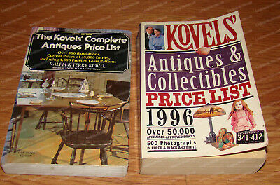 Kovel's Antiques & Collectibles Price List (1976, 1996) Paperback
