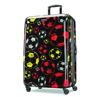 "American Tourister Moonlight 28"" Exp. Hardside Checked Spinner Luggage 92506"