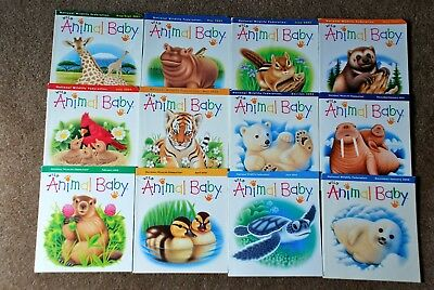 Lot of 12 Children's Books WILD ANIMAL BABY by National Wildlife Federation