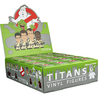 "GHOSTBUSTERS - 3"" Blind Box Titans Vinyl Figurines Display (20ct) #NEW"