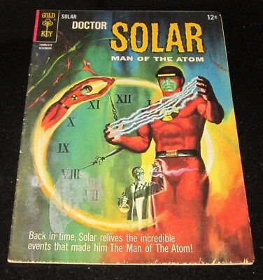 Doctor Solar Man of the Atom #15 VG 1965 Gold Key Silver Age Sci-Fi Comic Book