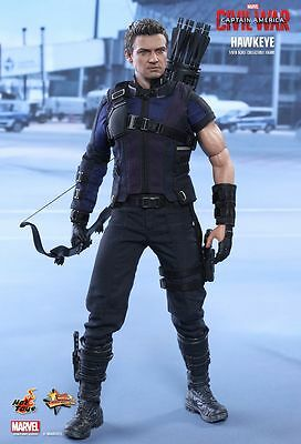 CAPTAIN AMERICA 3 - Hawkeye 1/6th Scale Action Figure MMS358 (Hot Toys) #NEW