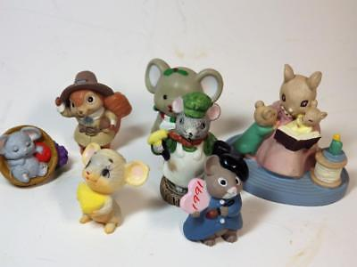 7 Vintage Mouse Mice Forest Friends Story Time Thanksgiving Valentines Day Russ
