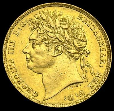 King George The Iiii 1821 Gold Sovereign....