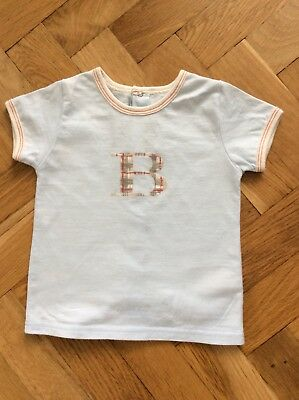 Baby Burberry Boys T-shirt 12 months