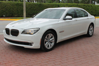 2012 BMW 7-Series 740LI NAV BACKUP CAMERA 4-ZONE CLIMATE CONTROL PAR FLORIDA CAR LOW MILES VERY CLEAN FULLY SERVICED VERY LOW PRICE!