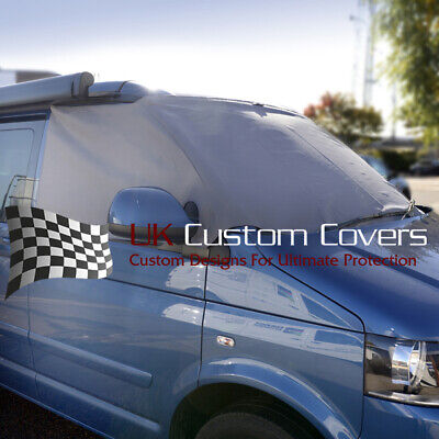 Vw T5 T6 Transporter Camper Screen Frost Wrap Cover Grey 118