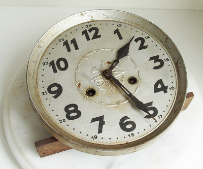 Vintage wall clock movement for spares or repair