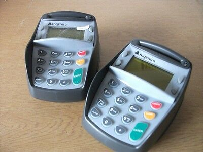 2 x Point of Sale Card Reader - Ingenico i3300 - Ref 1812