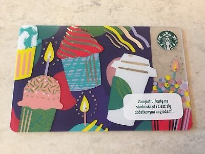 Starbucks Card Poland Issue Spring 2018 499 Picclick Uk