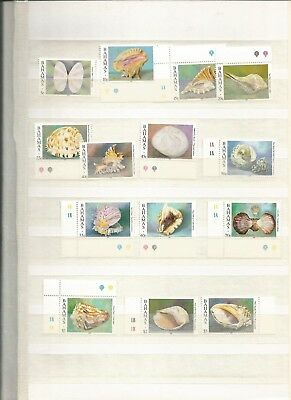 Bahamas Scott 849-864 Mnh Scv $40 Short Set