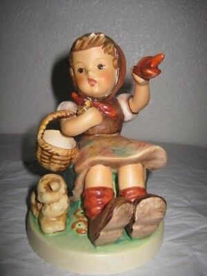 "Delightful Little Goebel Hummel Figure, ""farewell"".tmk 6,1980, 12 High X 8.5 Cm"