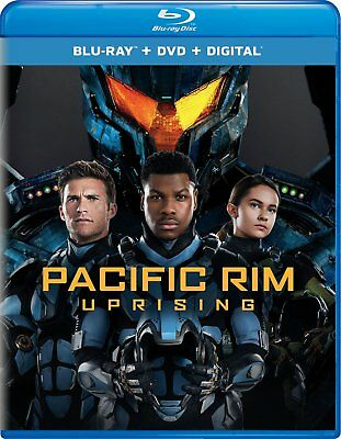 Pacific Rim Uprising (Blu-ray Disc ONLY, 2018) - no DVD or Digital Code