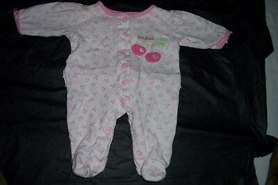 Baby Beginnings     Girls     0-3 Months   1Piece     Footed    Feminine sleeper