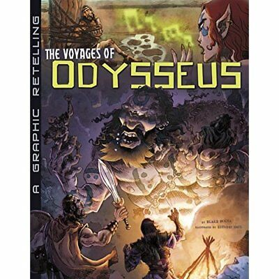 The Voyages of Odysseus: A Graphic Retelling (Ancient M - Paperback NEW Blake Ho
