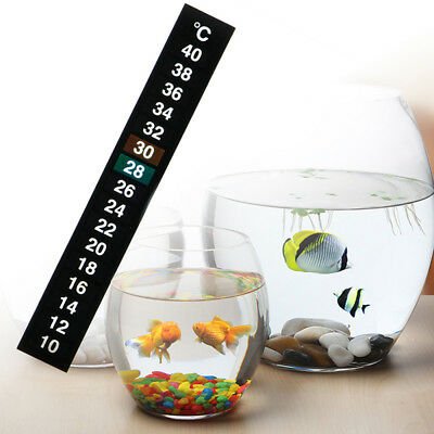 Strip Temperature Thermometer Aquarium Fish Tank Sticker Home brew beer Adhesive