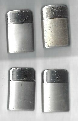 Lot of 4 Typhoon Lighters, All British Empire Made, Working Condition