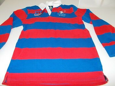 Newcastle Knights - Long Sleeved Retro Top - Small -See Desc For Sizing