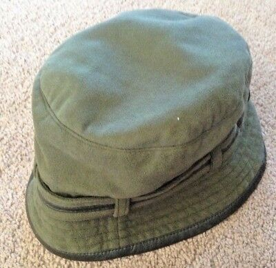 03ca5cfbc22 womens olive green microfiber orvis bucket hat lkn stylish